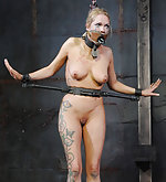 Helplessly cuffed and humiliatingly trained