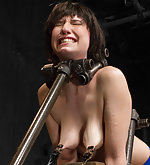 Inescapable bondage predicaments, pain/pleasure games