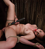 Charlotte vale fucked and domiated in bondage