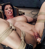 Duckfaced bitch is roped, trained and fucked hard