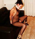 Dutch beauty is shamefully roped and vibrated