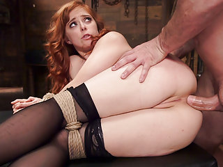 Anal sex slave gets pounded in hardcore bondage