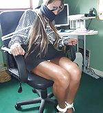 Pretty secretaries in peril