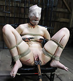 Marina gets locked, shaved and humiliated