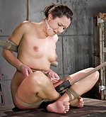 Hot woman gets roped, punished, humiliatingly trained