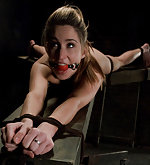 Caged, roped, strapped, dildoed, pegged and vibed