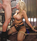 Deanna submits to bondage and rough sex