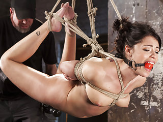 Her first taste of extreme bondage and torment