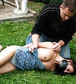 Veronika gets captured, hogtied and tape-gagged
