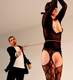 Sunspended by her wrists this whore receives the bullwhipping of her lifetime